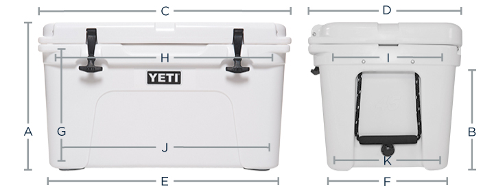 YETI Coolers Tundra Size Guide