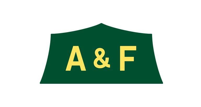 「A&F ロゴ」の画像検索結果