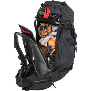 ac28e4ee4487 パトロール45はオーバーナイトトリップに十分に対応する容量を誇ります。ダイアゴナル・A-フレームの2通りのスキーキャリーが可能です。 【SADDLE  PEAK ...